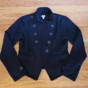 Converse Coat Black military style jacket MED